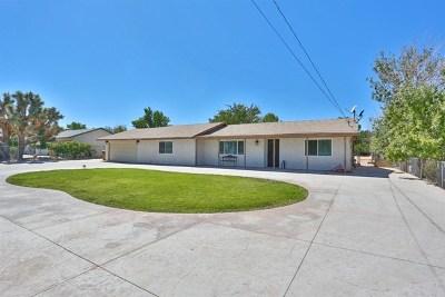 Hesperia CA Single Family Home For Sale: $270,000