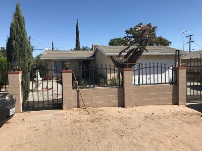 Hesperia CA Single Family Home For Sale: $215,000