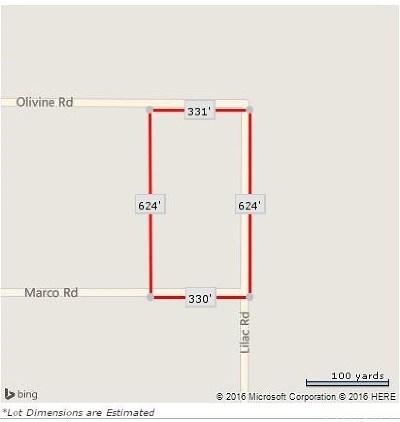 Victorville Residential Lots & Land For Sale: 1 Olivine Road
