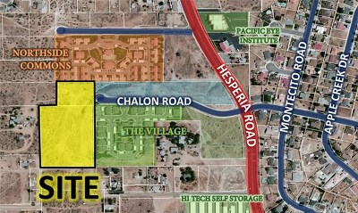 Victorville Residential Lots & Land For Sale: 16700 Chalon Road