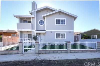 Torrance Multi Family Home For Sale: 1538 W 205th Street