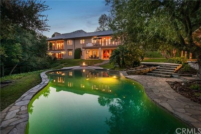 Glendora Single Family Home For Sale: 247 Oak Knoll Drive