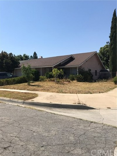 Rancho Cucamonga Single Family Home Active Under Contract: 10298 Candlewood Street