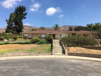Glendora Single Family Home For Sale: 907 Danton Drive