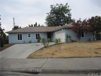 Pomona Single Family Home For Sale: 1711 Richard Street