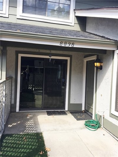 Rancho Cucamonga Condo/Townhouse For Sale: 8838 Knollwood Place