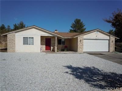 Victorville Single Family Home For Sale: 15220 Clovis Street