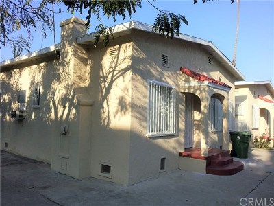 Hollywood Multi Family Home For Sale: 1130 N Mariposa Avenue