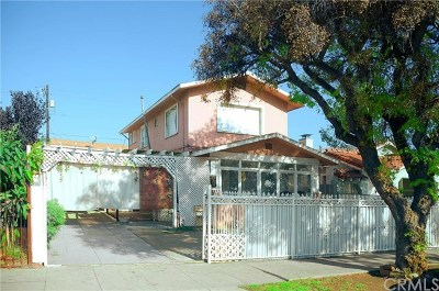 Los Angeles Multi Family Home For Sale: 3415 Hunter Street