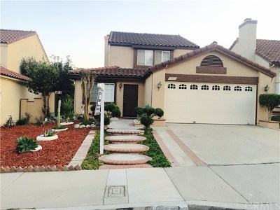 Chino Hills Single Family Home For Sale: 2483 Hillsborough Lane