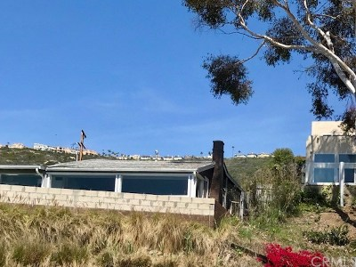 Single Family Home For Sale: 31954 Coast Highway #B