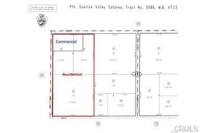 Adelanto Residential Lots & Land For Sale: Bellflower Street