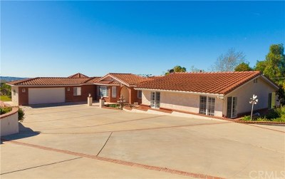 Fallbrook Single Family Home For Sale: 2501 Via Rancheros Way