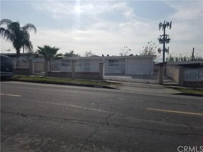La Puente Single Family Home For Sale: 17456 Salais Street