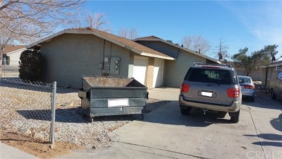 Adelanto Multi Family Home For Sale: 18863 Del Mano Court