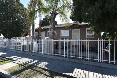 Pomona Multi Family Home For Sale: 996 E 4th Street