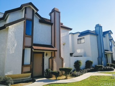 Baldwin Park Condo/Townhouse Active Under Contract: 13532 Francisquito Avenue #F
