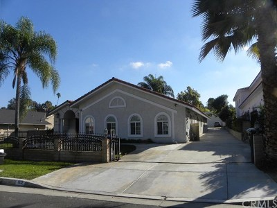 Rowland Heights Single Family Home For Sale: 1910 Pepperdale Drive