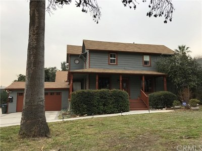 Pasadena Single Family Home For Sale: 1253 N Marengo Avenue