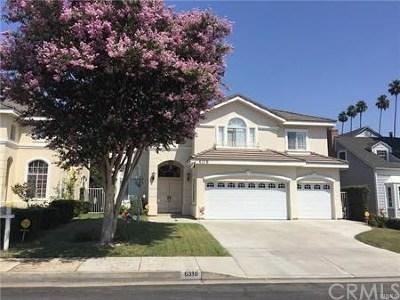 San Gabriel Single Family Home For Sale: 6316 Deerfield Avenue