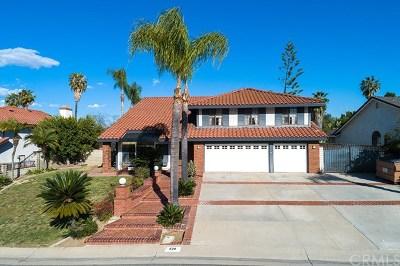 Walnut Single Family Home For Sale: 628 El Vallencito Drive
