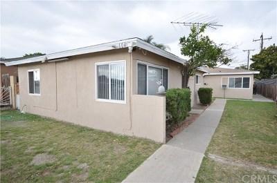 Torrance Multi Family Home For Sale: 1049 Torrance Boulevard