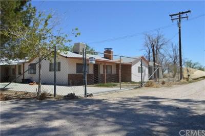 Lancaster Single Family Home For Sale: 49001 E 100 Street