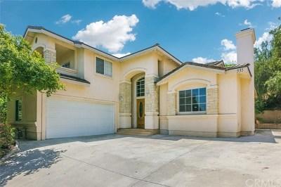 Walnut Single Family Home For Sale: 535 Bourdet Street