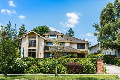 Pasadena CA Single Family Home For Sale: $2,690,000