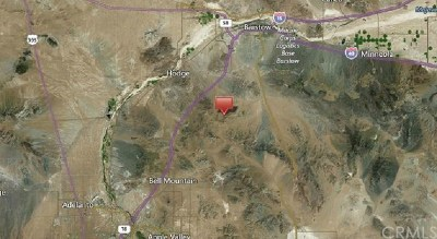 Barstow Residential Lots & Land For Sale: Stoddard Valley Rd
