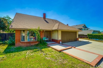 San Dimas Single Family Home For Sale: 122 Shire Court