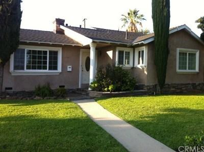 Covina Single Family Home For Sale: 727 E Benbow Street