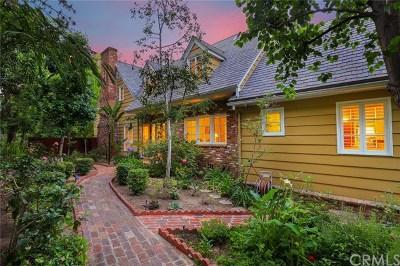 San Marino Single Family Home For Sale: 1445 Oak Grove Avenue