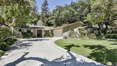 Pasadena Single Family Home For Sale: 1125 Wellington Avenue
