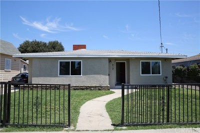 San Gabriel Single Family Home For Sale: 812 S Del Mar Avenue