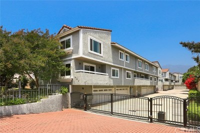 Arcadia Condo/Townhouse For Sale: 459 Fairview Avenue #C