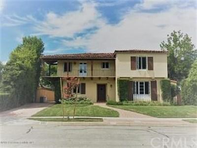 San Marino Single Family Home For Sale: 2157 Homet