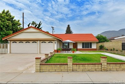 La Verne Single Family Home For Sale: 1635 La Mesa Drive
