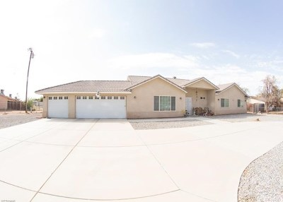 Apple Valley Single Family Home For Sale: 13078 Yakima Rd