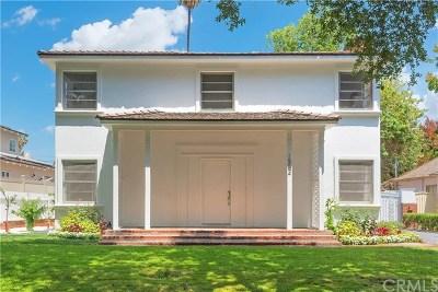 San Marino Single Family Home For Sale: 1552 Bradbury Road