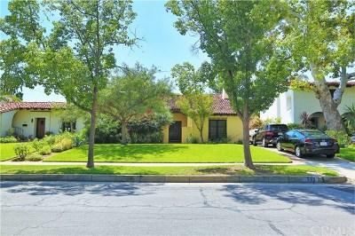 San Marino Single Family Home For Sale: 589 S Berkeley Avenue