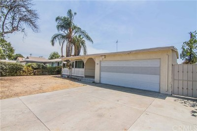 Pomona Single Family Home For Sale: 1236 Morning Sun Drive