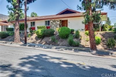 Monrovia Single Family Home For Sale: 410 N Canyon Boulevard