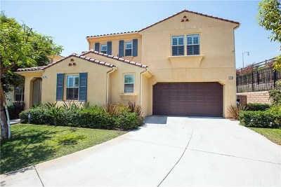 Azusa Single Family Home For Sale: 1375 Pampas Court