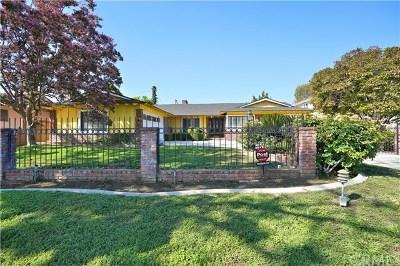 Arcadia CA Single Family Home For Sale: $1,600,000