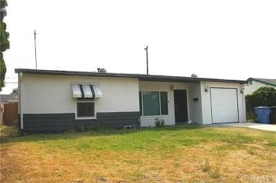 Pomona Single Family Home For Sale: 2380 Notre Dame Avenue