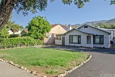La Crescenta Multi Family Home For Sale: 3316 Montrose Avenue