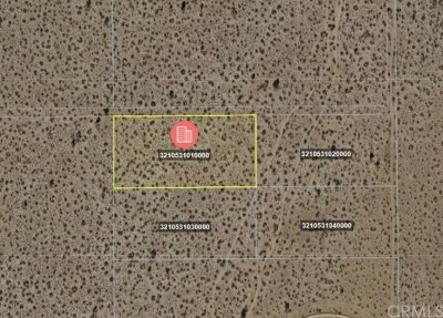 Adelanto CA Residential Lots & Land For Sale: $1,000,000