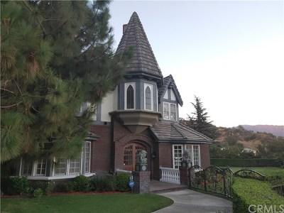 Arcadia CA Single Family Home For Sale: $3,968,000