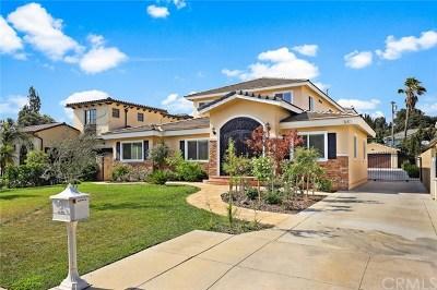 Arcadia Single Family Home For Sale: 65 W Lemon Avenue